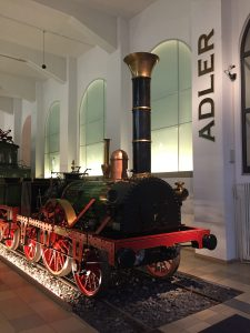 A train in the DB Museum