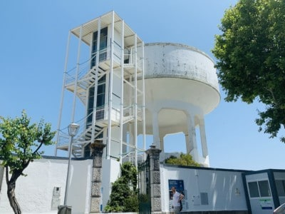 Tavira's Camera Obscura in the old water tower