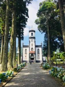 The church in Sete Cidades