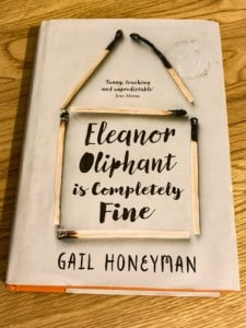 The Eleanor Oliphant book by Gail Honeyman
