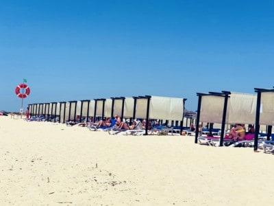 Tavira's Ilha de Tavira beach