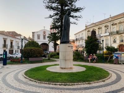 Tavira's Praca Dr Antonio Padhina square