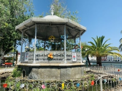 Tavira bandstand in the Jardim do Coreto