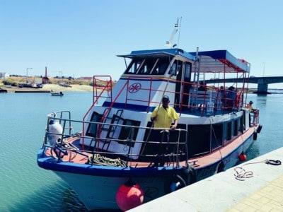 Tavira ferry boat