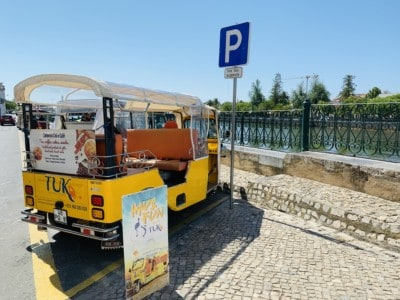 Tavira's tuk tuk - available for sightseeing