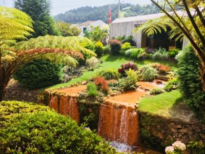Inside the Poca da Dona Beja hot springs and spa