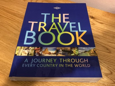 The Lonely Planet travel guide - a great gift for someone going travelling or as a coffee table book