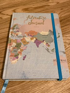 The Hunky Dory adventure journal - a great gift for someone going travel and who wants to document their experiences