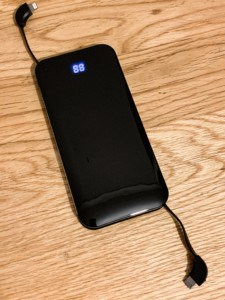 The DULLA portable battery charger - a great gift for someone going travelling
