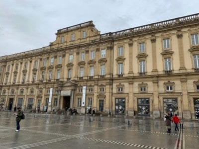 The outside of the Musee des Beaux-Arts