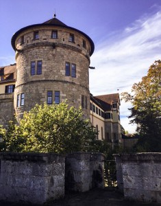 A side view of the castle, one of the main sites on your day trip from Stuttgart