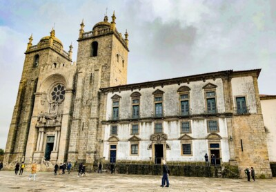 An image of the cathedral, one of the main sights you should see on a Porto city break
