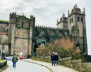 Porto's cathedral - a must see sight on one of your Europe trips 2021.